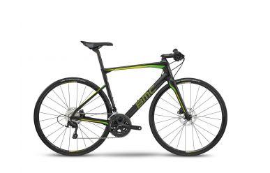 BMC RoadMachine RM02 FB Flat Bar, 105 Flat Bar, Carbon Lime, 56cm