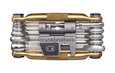 CrankBrothers Minitool 17 Multifunktionswerkzeug Gold