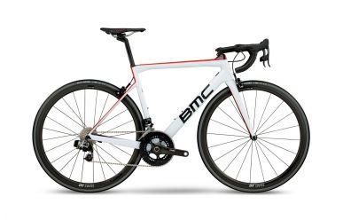 BMC TeamMachine SLR01 ONE, Sram Red eTap, White Red, 56cm