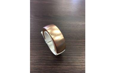 Knog Oi Fahrradklingel 31,8mm weiß/ bronze