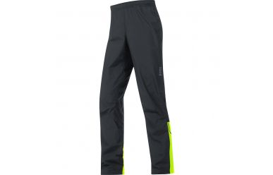 Gore E Windstopper Active Shell Hose, men, black/neon yellow, XL