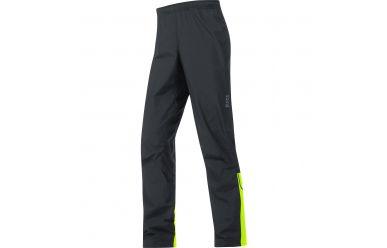 Gore E Windstopper Active Shell Hose, men, black/neon yellow, XL
