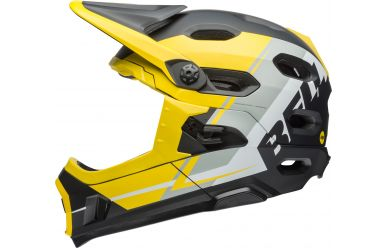 Bell Super DH Mips yellow/silver/black M