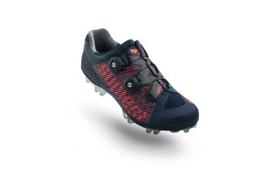 Suplest Edge3 Pro MTB Schuh, Double Boa, Carbon Sohle, Solestar Innensohle, Navy Coral