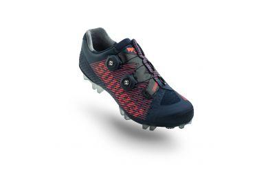 Suplest Edge3 Pro MTB Schuh, Double Boa, Carbon Sohle, Solestar Innensohle, Navy Coral