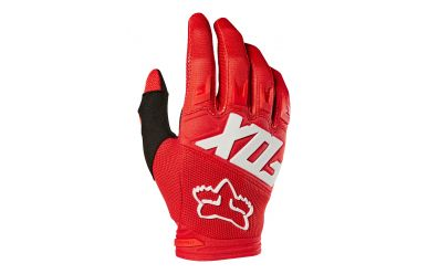 Fox Dirtpaw Race Handschuh Langfinger Red