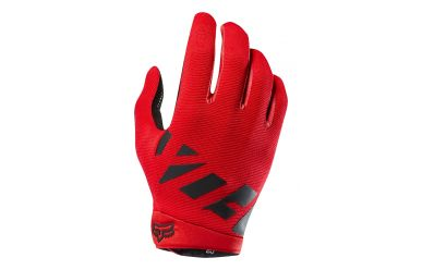 Fox Ranger Gel Handschuh Langfinger Bright Red