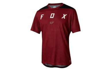 Fox Indicator SS Mash Camo Trikot Dark Red