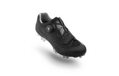 Suplest Edge3 Sport MTB Schuh mit Boa Drehverschluss, steifer Nylon Sohle Black