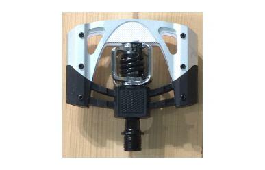 CrankBrothers Mallet 2 Klick/Plattformpedal inkl. Premium Cleats, Black Silver