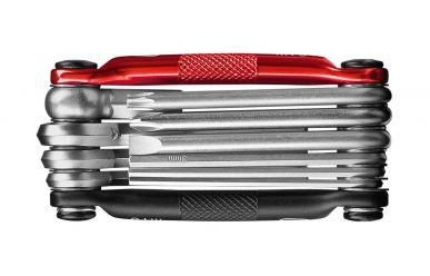 CrankBrothers Minitool 10 Multifunktionswerkzeug Black Red