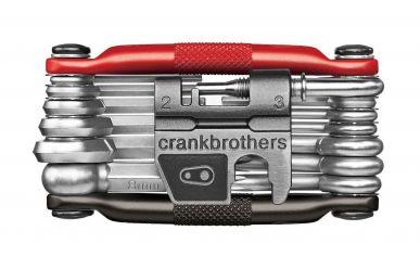CrankBrothers Minitool 19 Multifunktionswerkzeug Black Red