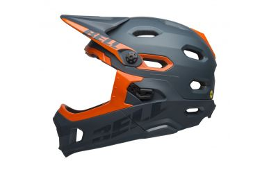 Bell Super DH Mips Matt Gloss Slate Orange