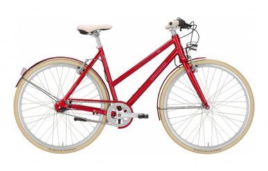 Excelsior Fizz City Damenrad Nexus 8 Gang Nabenschaltung Candy Red M 52cm Austellungsrad mit eingedelltem Schutzblech
