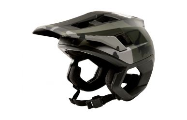 FoxHead Dropframe Helm Black Camo