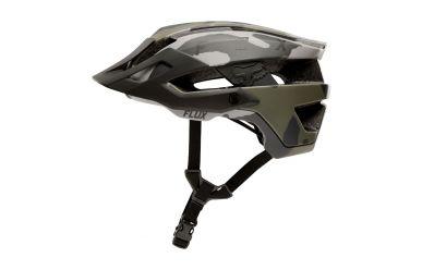 FoxHead Flux Helm Solid Green Camo