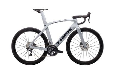 Trek Madone SLR 6 Disc Aero Bike Matte Gravel Gloss Quicksilver