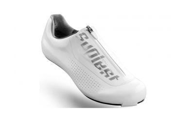 Suplest Edge3 Pro Aero Rennradschuh Weiß, ultra steife Carbonsohle, Solestar Innensohle