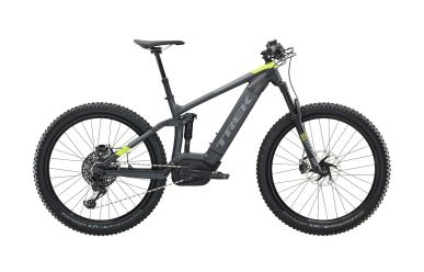Trek Powerfly FS 9 Matte Solid Charcoal