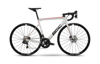 BMC Teammachine SLR02 DISC ONE Shimano Ultegra Di2 Off White
