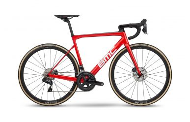 BMC Teammachine SLR01 DISC THREE Shimano Ultegra Di2 Team Red