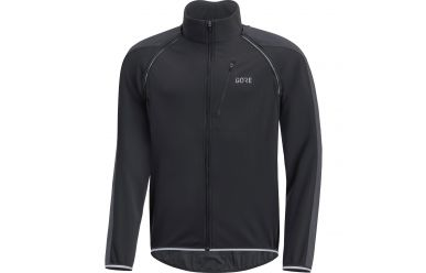 Gore C3 Windstopper Phantom Zip-Off Jacke Black Terra Grey