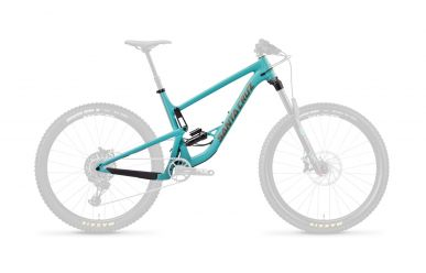 Santa Cruz Bronson 3 AL FS Frameset Industry Blue and Gold