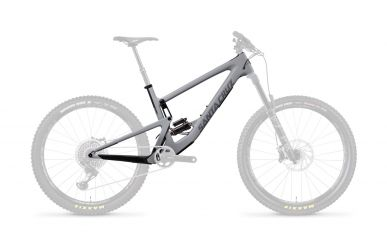 Santa Cruz Bronson 3 CC FS DLX RCT Frameset Primer Grey and Silver