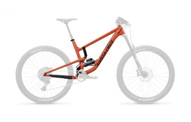Santa Cruz Nomad 4 AL Frameset Orange
