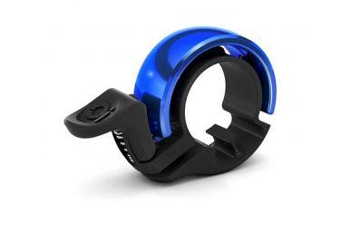 Knog Oi Fahrradklingel Black Blue