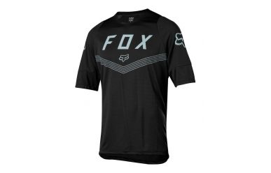 FoxHead Defend SS Moth Jersey Black