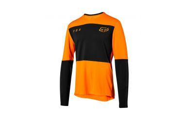FoxHead Defend Delta LS Jersey Atomic Orange