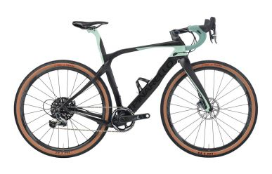 Pinarello Grevil+ Force 1 Disc, Fulcrum Racing 650B Laufräder, 508 Carbon Matt Petrol Grey