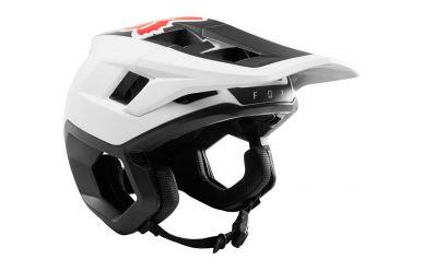 FoxHead Dropframe Helmet White Black