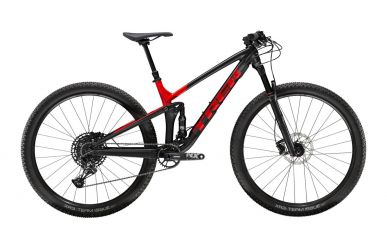 Trek Top Fuel 8 Sram NX Eagle Matte Trek Black Gloss Viper Red