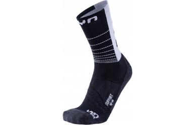 UYN Cycling Support Man Socks Black White