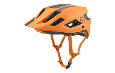 FoxHead Flux Mips MTB Helm Rush Atomic Orange