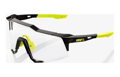 100% Speedcraft Brille, Gloss Black, Photochromic Lense