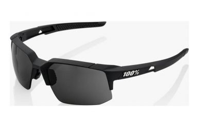 100% Speedcoupe Brille, Soft Tact Black, Smoke Lense