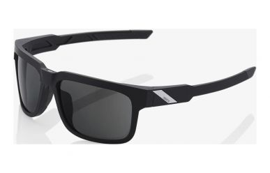 100% Type S Brille, Soft Tact Black, Smoke Lense