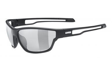 Uvex sportstyle 806 v Brille, Gestell Black Matt, Gläser Variomatic