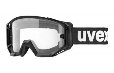 Uvex Athletic Goggle, Gestell Black Matt, Scheibe Clear