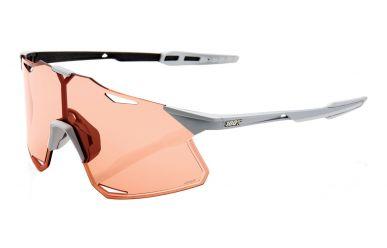 100% Hypercraft Brille, Matte Stone Grey, HIPER Coral Lense