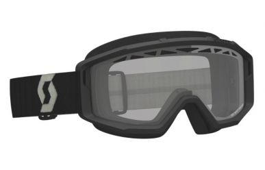 Scott Primal Enduro Goggle, Enduro Brille Glas Clear Rahmen Black Grey