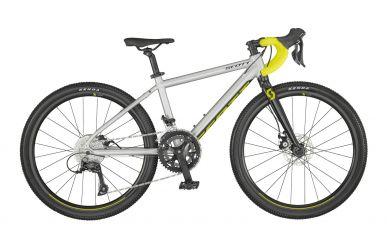 Scott Gravel 400 Pale Grey Matt Black Radium Yellow OneSize