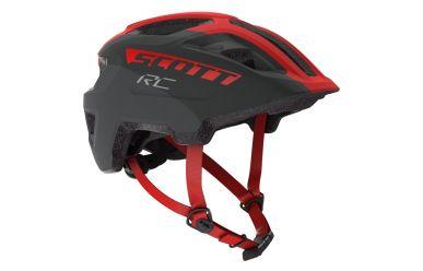 Scott Spunto Junior Helm Grey Red RC 46-52cm