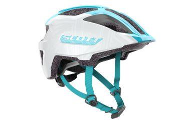 Scott Spunto Junior Helm Pearl White Breeze Blue 46-52cm