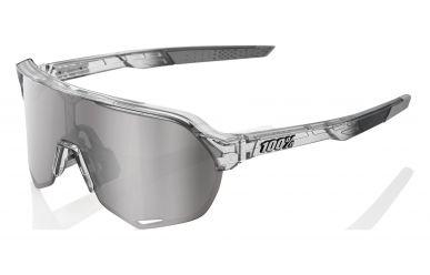 100% S2 Brille, Translucent Grey, HIPER Mirror Lense