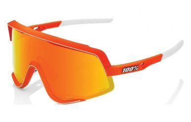 100% Glendale Brille, Neon Orange, HIPER Multilayer Mirror Lense