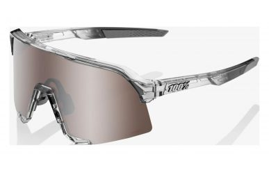 100% S3 Brille, Translucent Grey, HIPER Mirror Lense